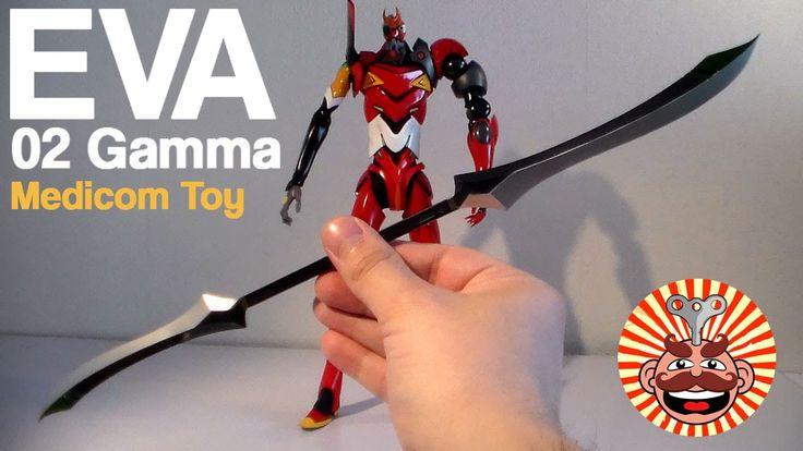Medicom Toy RAH Evangelion EVA Unit 02 Gamma Figure REVIEW - Monsieur Toys
