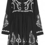 Collette by Collette Dinnigan Embroidered Cotton-blend Voile Dress 1
