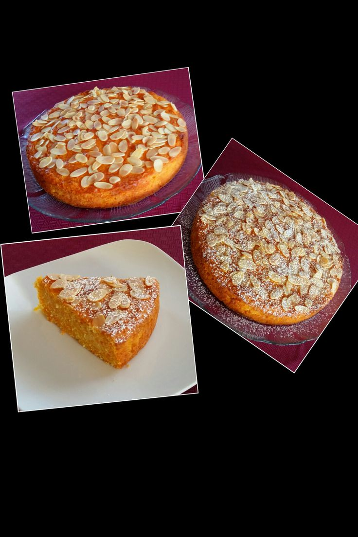 Carrot, Orange and Almond Cake