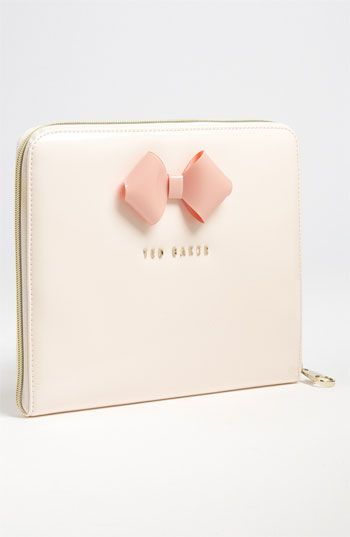 Ted Baker Bow iPad Sleeve. I've seen this before, expensive as hell.