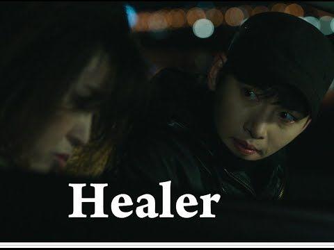 Healer first met of Healer and Ajumma funny dramatic moment
