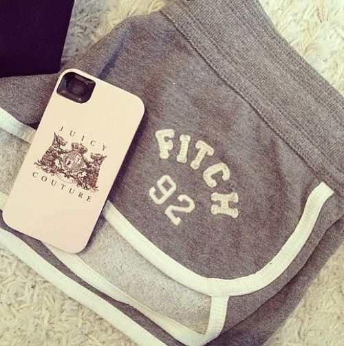 Abercrombie & Fitch and Juicy Couture! <3