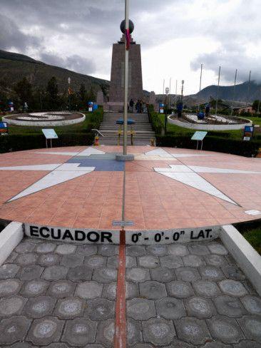 Middle of the World Monument, Mitad Del Mundo, Quito, Ecuador Photographic Print