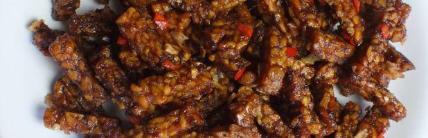 sambal goreng tempeh kering - Kokkie Slomo - Indische recepten