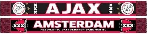 Ben jij een echte fan van Ajax? Dan kan deze sjaal echt niet ontbreken! Deze sjaal houd je lekker warm en je laat iedereen zien dat jij voor de mooie club Ajax Amsterdam staat! Op deze sjaal staan zwart met rode kruizen.   Afmeting: volgt later.. - Sjaal ajax rood/zwart kruizen