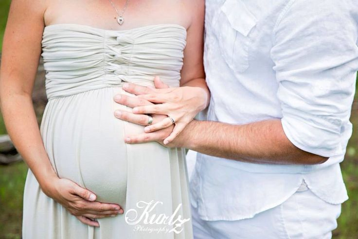 Baby on the way, maternity pictures