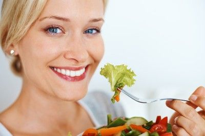 Take a moment to slow down and focus on how you eat. If you eat too fast you will consume more calories than you need. Many studies revealed that people took in fewer calories when they ate more slowly.