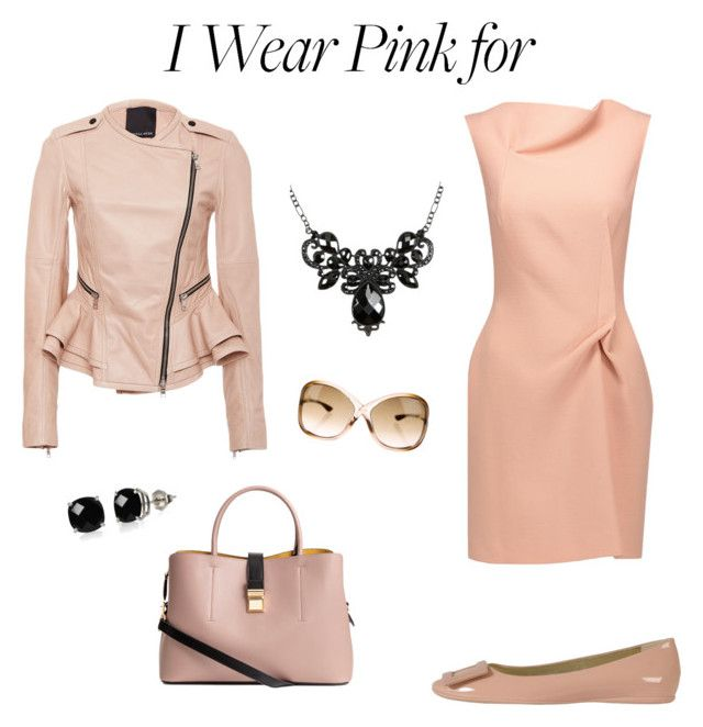 """""""Harmony"""" by borbalastyle on Polyvore featuring Roger Vivier, Roland Mouret, Marissa Webb, Tom Ford, Belk & Co. and IWearPinkFor"""