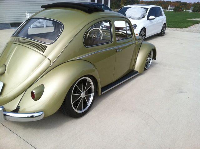 1963 VW Beetle Sunroof Sedan For Sale @ Oldbug.com Diamond Green | VWness | Vw beetles, Vw ...
