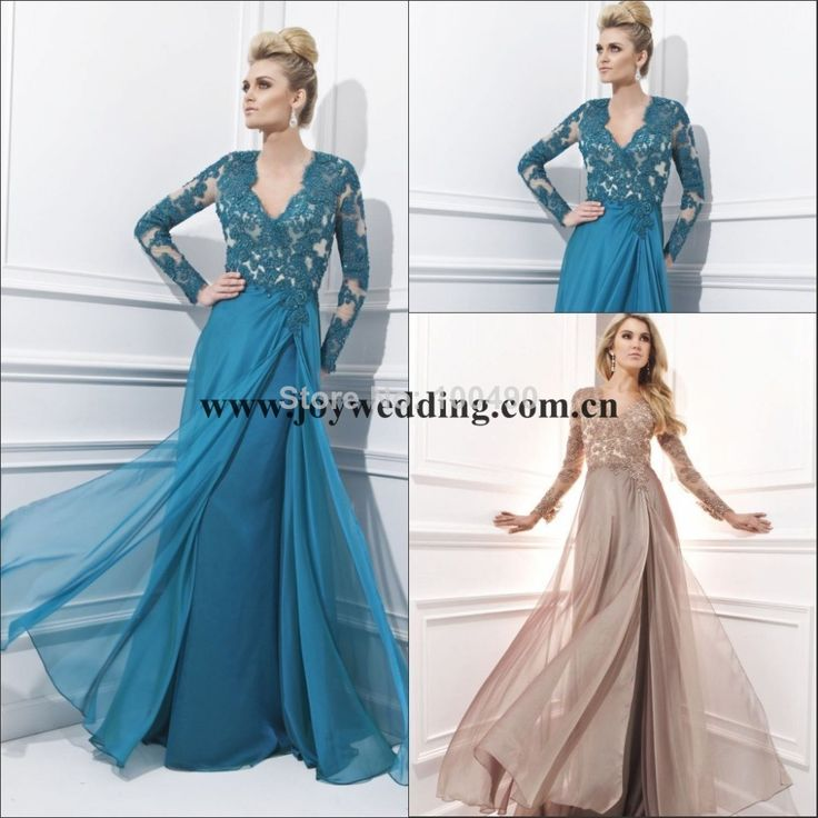 Find More Mother of the Bride Dresses Information about Turquoise Blue Long sleeves Muslim Plus Size Formal gowns Maxi evening dresses TBE214 Lace Mother of the Bride Dresses 2014,High Quality dress petticoats,China dress applique Suppliers, Cheap dress rubber from Joywedding dresses Factory on Aliexpress.com