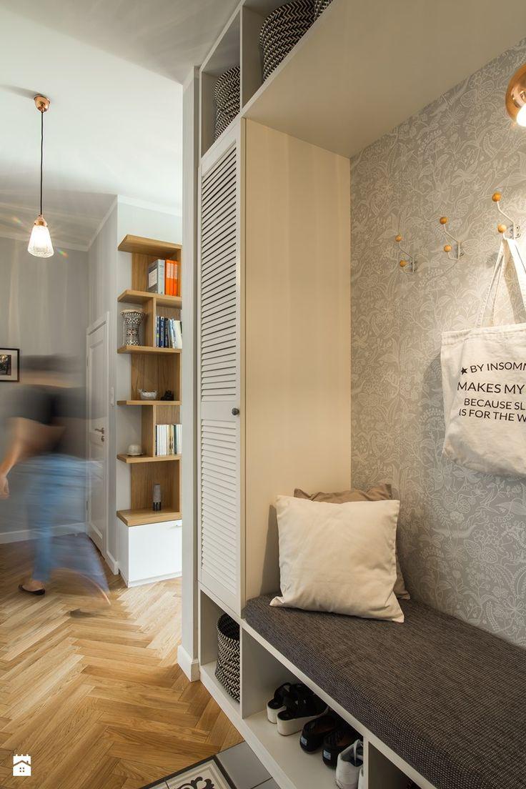 Skandynawski Żoliborz - Hol / przedpokój, styl skandynawski - zdjęcie od EG projekt