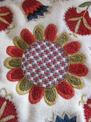 Brodösens blogg Swedish blog about handcrafts and embroidery.