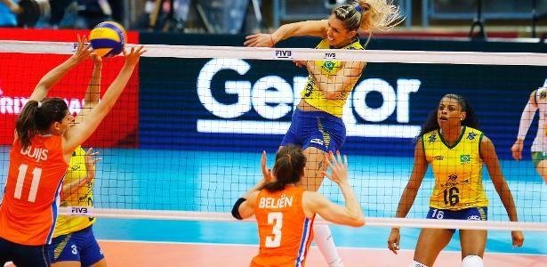 Brasil passa com tranquilidade pela Holanda e está na final do Grand Prix - 09/07/2016 - UOL Olimpíadas