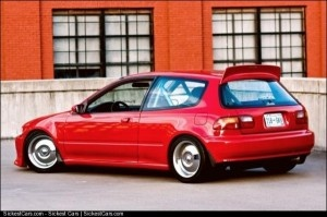 1995 Honda Civic Hatchback Custom - http://sickestcars.com/2013/06/02/1995-honda-civic-hatchback-custom/