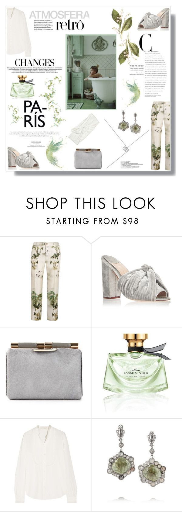 """""""""""Let us forget with generosity those who cannot love us"""""""" by nina-lala ❤ liked on Polyvore featuring Behance, F.R.S For Restless Sleepers, Johanna Ortiz, Tyler Alexandra, Bulgari, Vanessa Bruno, Loree Rodkin and Marc Jacobs"""