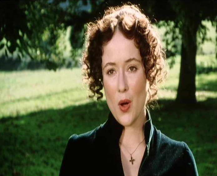 Elizabeth Bennet shocked in Pride and Prejudice (1995