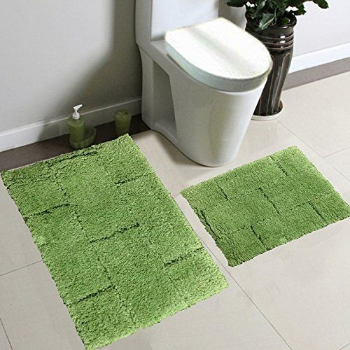 This Traditional bath rug by #Fancy #Linen will beautify any bathroom. Its simple design and soft plush fabric bring you the best of both style and comfort. Creat...