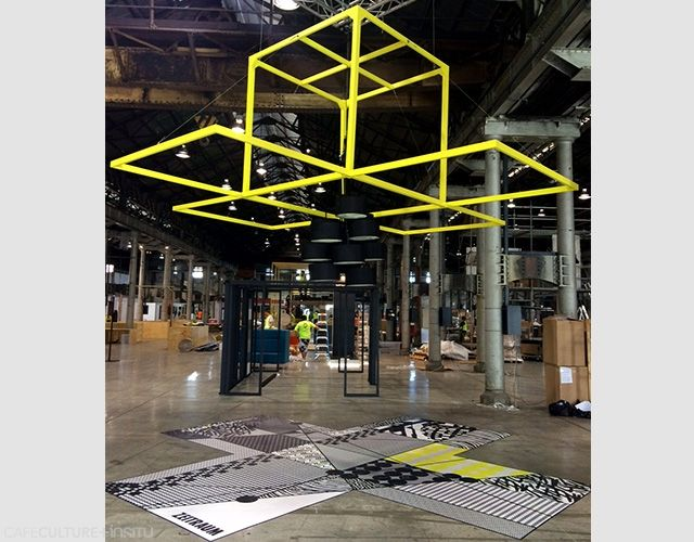 THE PROJECT: BEHIND THE SCENES AT SYDNEY INDESIGN 2015 - Cafe Culture + Insitu