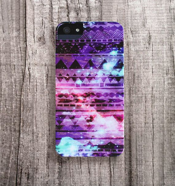iPhone 4 caso galaxia Tribal iPhone 4s caso Azteca por casesbycsera, $29.99