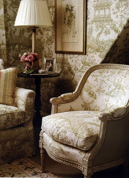17 Best Images About Toile Furniture On Pinterest