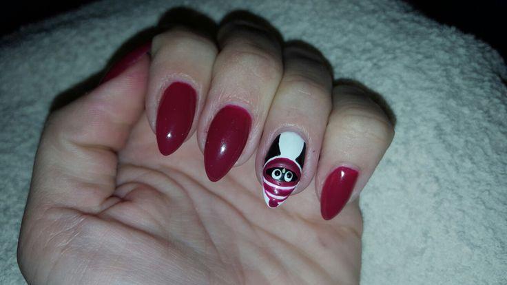 paznokcie  pingwin