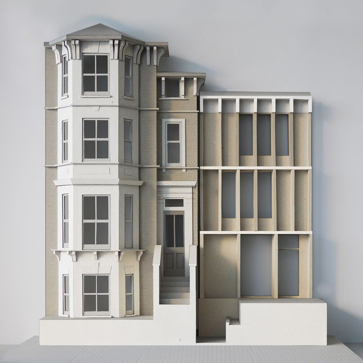 Model house for apartment