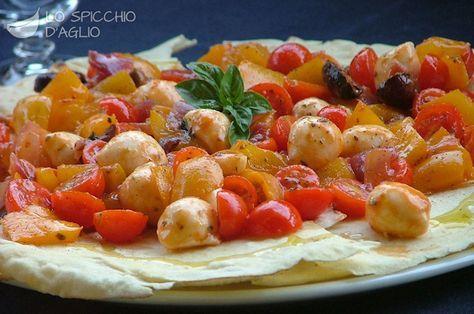 Pan di pizza Carasau