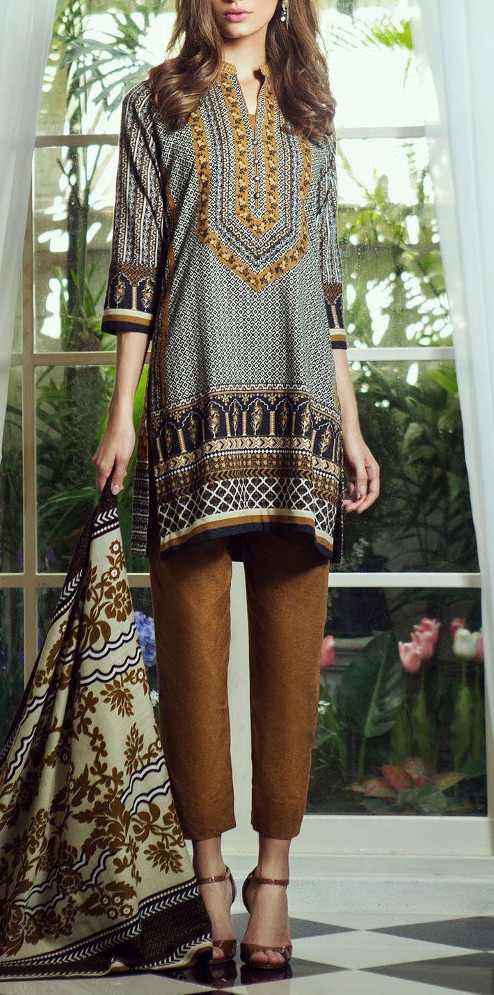 Buy Black/Brown Printed Wool Khaddar Salwar Kameez by Bonanza 2015 Call: (702) 751-3523 Email: Info@PakRobe.com www.pakrobe.com https://www.pakrobe.com/Women/Clothing/Buy-Winter-Salwar-Kameez-Online #Winter_Salwar_kameez