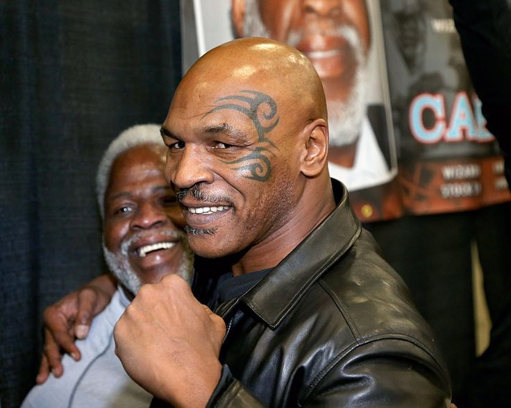 Mike Tyson's latest knock-out doesn't come from another boxer, but from riding a hoverboard. The former heavyweight champ seems to have the hang of it at the beginning, doing a few spins to show of...