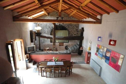 Il Palmento dei Castagni villa with pool in Sicily