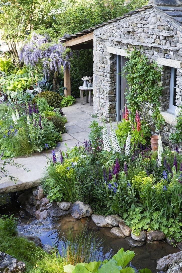 Yorkshire Garden entworfen von dem ehemaligen Studenten Askham Bryan gewinnt – Gartengestaltung Layout Home