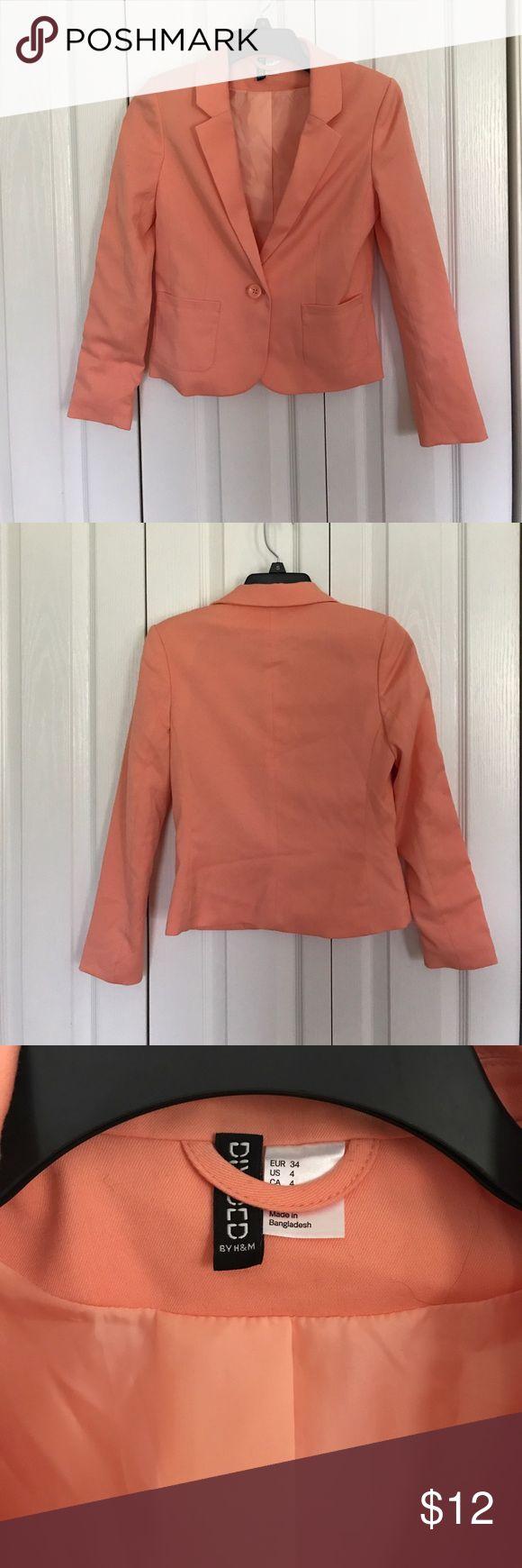 Peach blazer Peach blazer Jackets & Coats Blazers