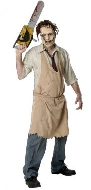 Men's Leatherface Costume