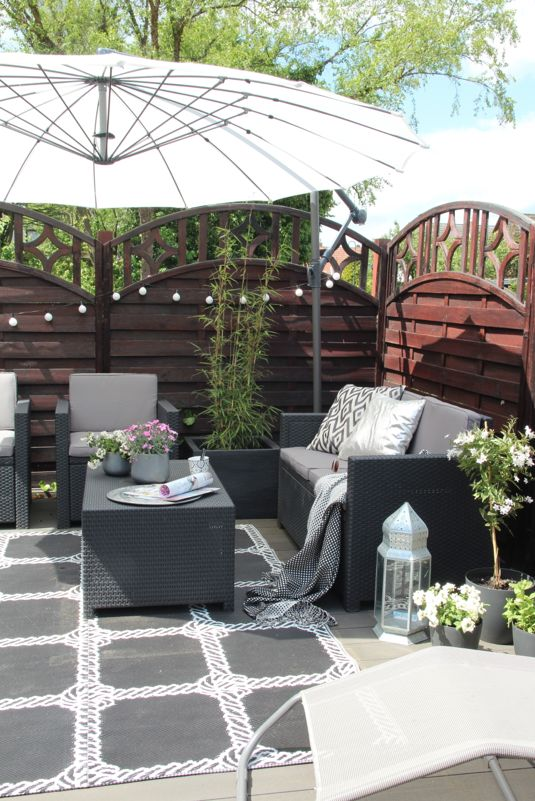 2512 best WOHNUNG EINRICHTEN images on Pinterest Live, Home and - terrasse einrichten ideen pouf