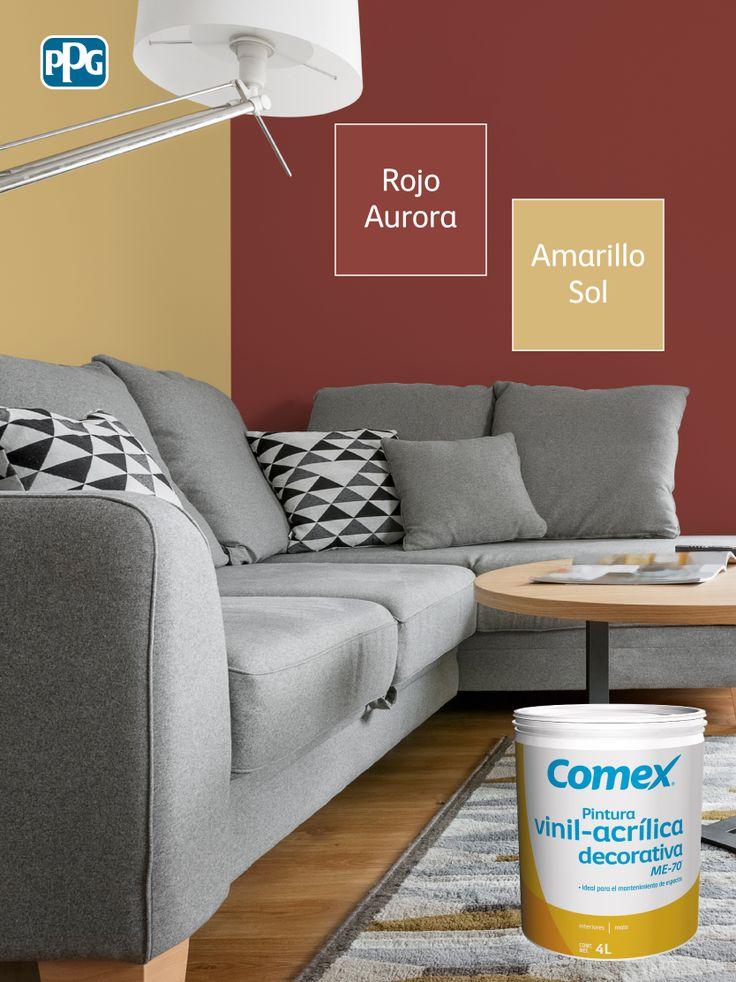 312 best productos comex images on pinterest - Colore de pintura para interiores ...