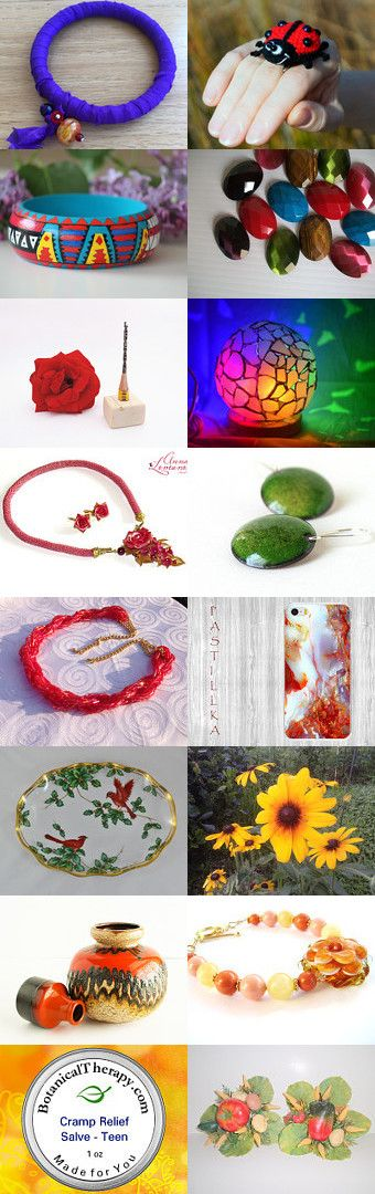 Colorful gift idea by Marina Filimonova on Etsy--Pinned+with+TreasuryPin.com