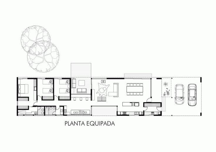Casa Lineal / Roberto Benito