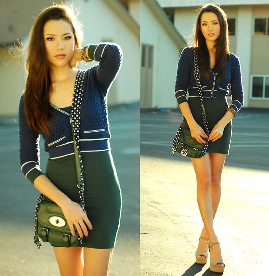 Green Dress -Jessica R LookBook