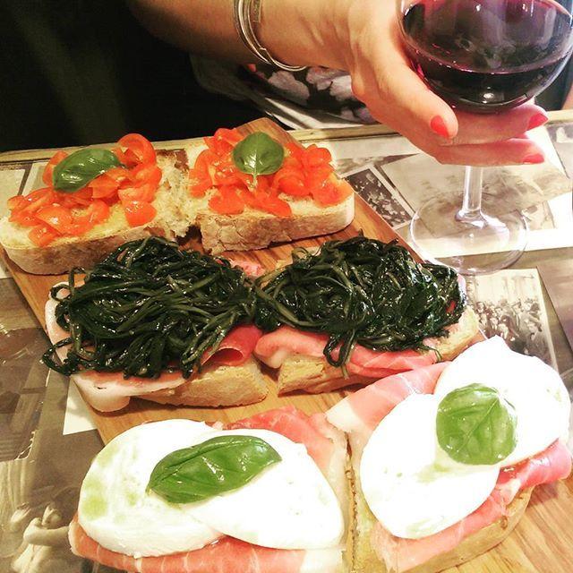 Living la dolce vitta italian cuisine #rome #cantina #vino #wine #ilovewine #iloveitaly food