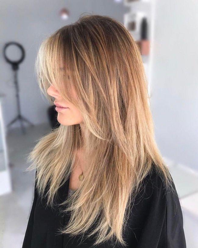 Modne Fryzury Z Grzywką 2019 Cięcia Dla Włosów Do Ramion I Długich