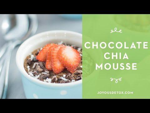 Chocolate Chia Mousse • Joyous Health