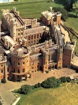 Belvoir Castle, England. A corner of the castle is still used as the family home of the Manners family and remains the seat of the Dukes of Rutland.