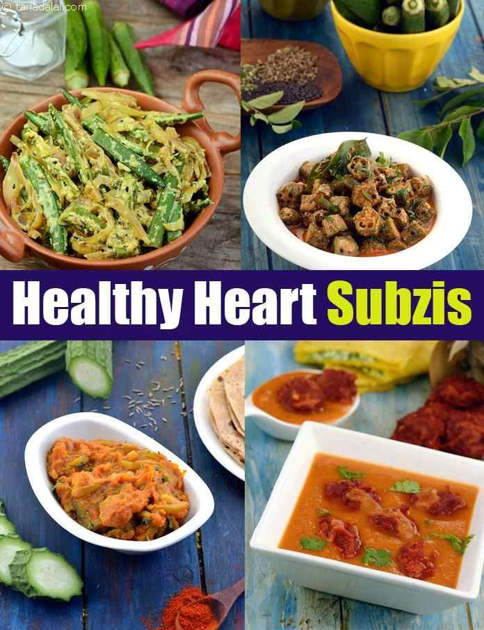 Sabzi For A Healthy Heart Indian Vegetables Curry For A Healthy Heart Recipes Food Subzi Recipe
