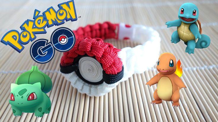 How to Make the Pokemon Go! Pokeball Paracord Bracelet Tutorial