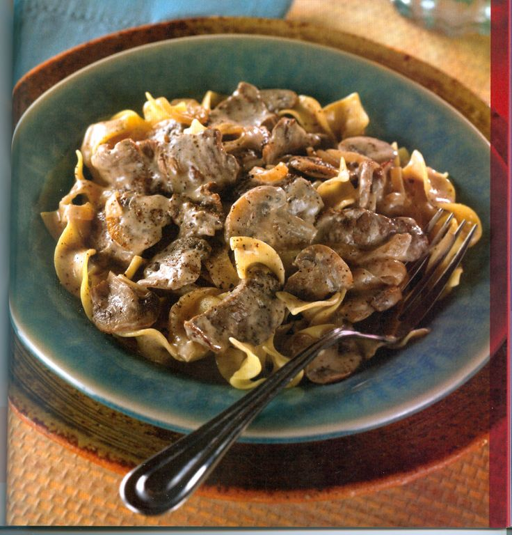 Creamy Beef, Mushrooms, and Noodles (Heart-smart Diabetic Recipe) | A Moms Rantings
