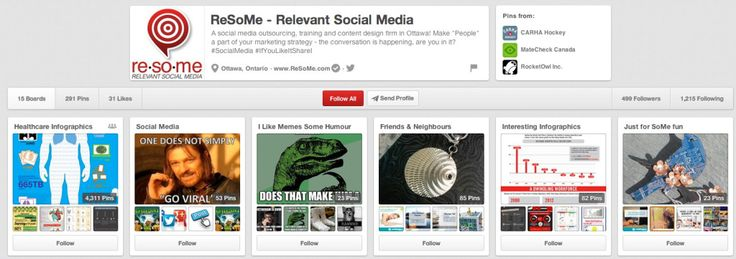 Pinning: Letting your customers build your brand - ReSoMe   Relevant Social Media