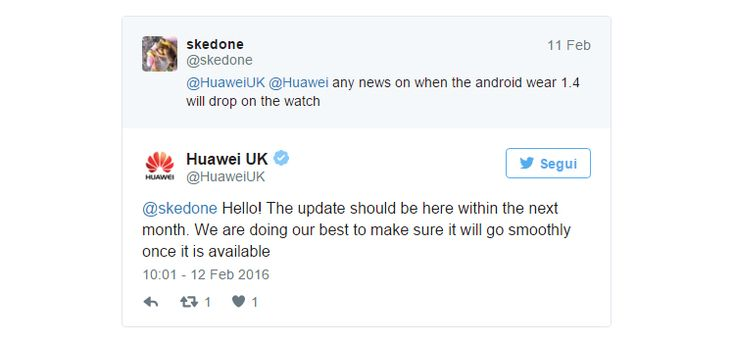 Android Wear con Marshmallow llega tarde al Huawei Watch - http://update-phones.com/es/android-wear-con-marshmallow-llega-tarde-al-huawei-watch/