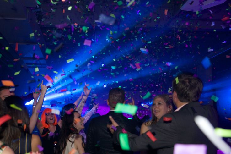 Party time with Confetti!! http://www.fusion-events.ca/