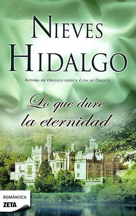 [datosLibro] Lo que dure la eternidad de Nieves Hidalgo el libro que le dio vida como escritora romántica, comienza cuando Cristina Ríos quien es una mujer ...