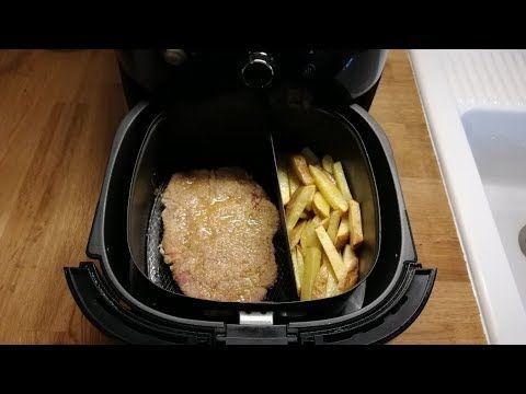 Wiener Schnitzel Heißluftfritteuse